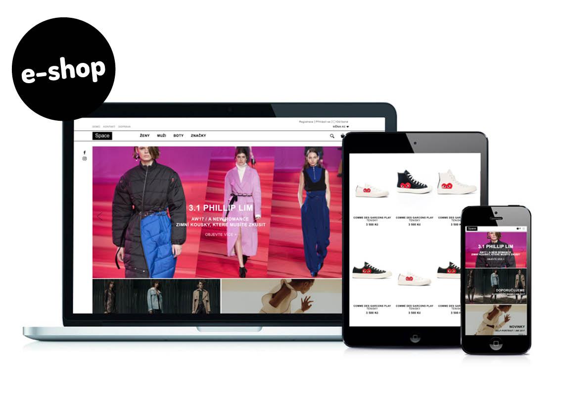 Vývoj e-shopu