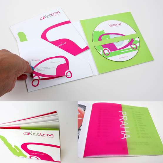 Návrh brožur