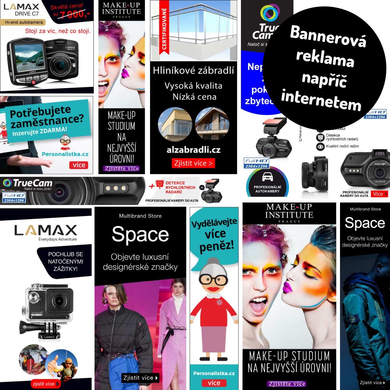 Reklamní bannery pro web