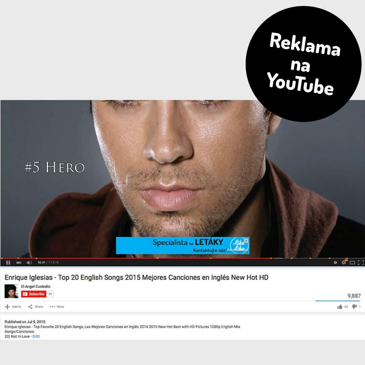 You Tube reklama